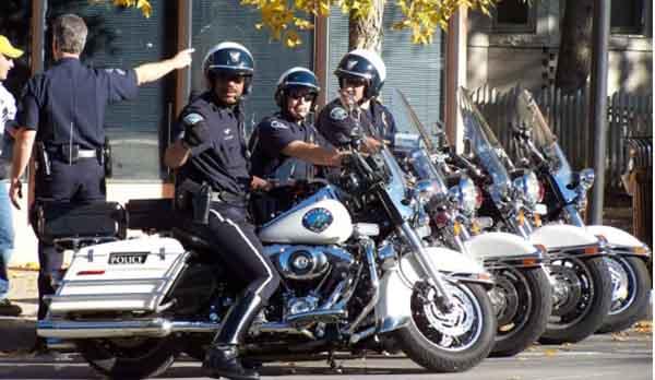Bekerja menjadi polisi