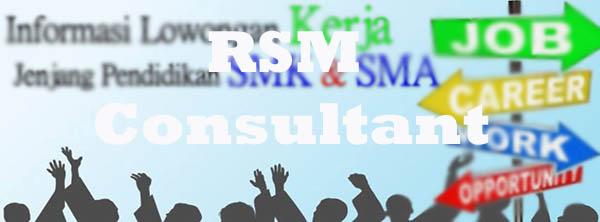 RSM Consultant yayasan penyalur kerja di bekasi