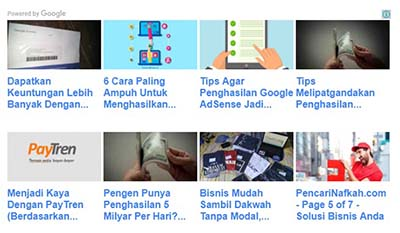 Matched Content Google AdSense