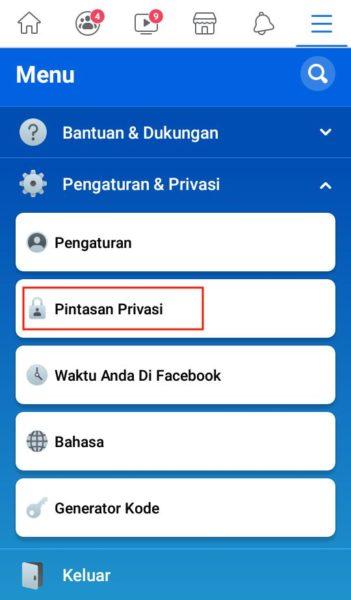 pengaturan privasi akun facebook