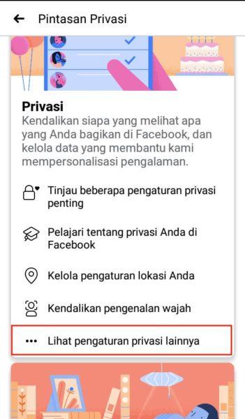 agar teman facebook tidak dilihat orang lain