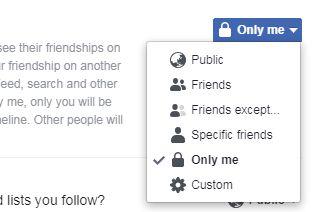 tutorial menyembunyikan teman facebook