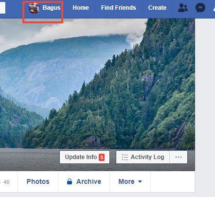Menyembunyikan teman FB