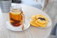 Air Lemon Bisa Ditambah Madu atau teh