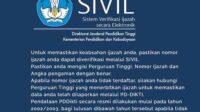 Cek Ijazah Online di SIVIL