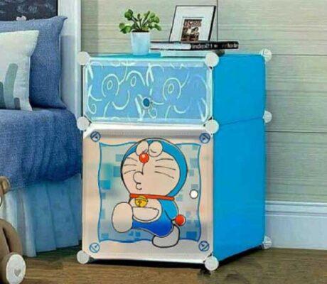 Lemari Doraemon Plastik Ukuran Kecil