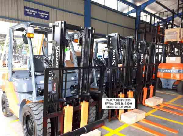 Forklift Bekas PT Wijaya Equipment
