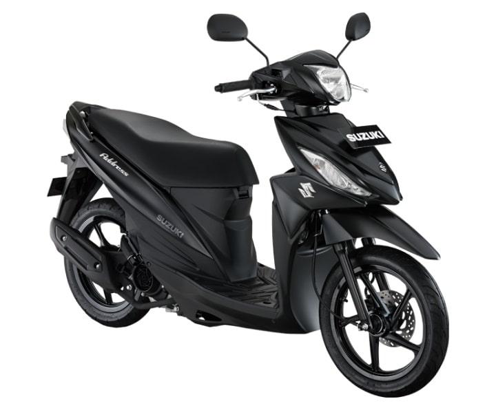 Suzuki Address FI Black Predator