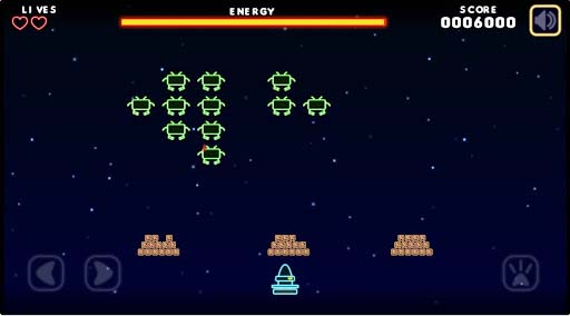 Game Neon Invaders