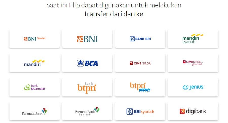 Aplikasi Flip bisa transfer antar bank